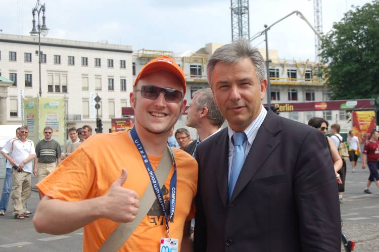 Gabe and Mr. Wowereit